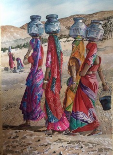 mbWomen and Water Pots